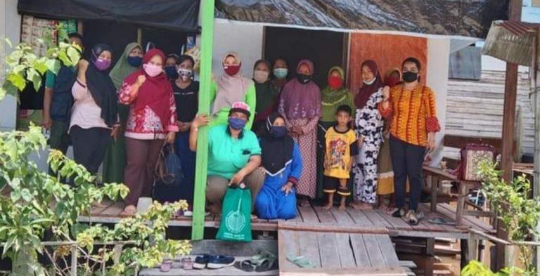 TANI: Kelompok Tani Wanita Kelurahan Marang usai menggelar kegiatan, belum lama ini.DISKOMINFO UNTUK KALTENG.CO
