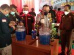 Narkoba di Lima Kabupaten/Kota di Kalteng