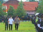 Gubernur Kalteng H Sugianto Sabran, Kapolda Kalteng Irjen Pol Dedi Prasetyo, Danrem 102/Pjg Brigjen TNI Purwo Sudaryanto