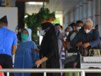 Penumpang yang berangkat dari Bandara Tjilik Riwut Palangka Raya
