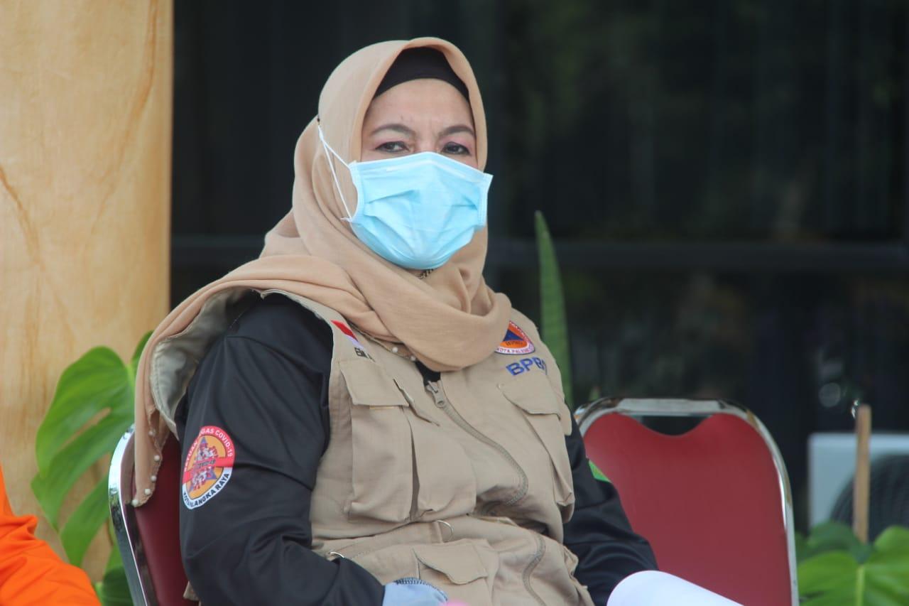 Kepala BPBD Kota Palangka Raya Emi Abriyani