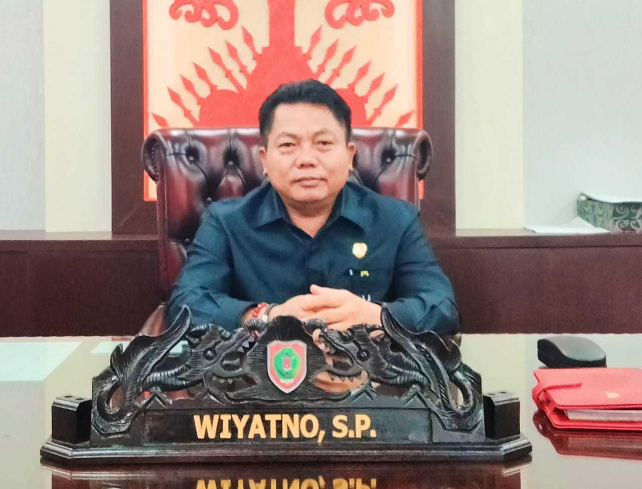 Ketua DPRD Kalteng – Wiyatno, SP.