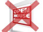 tidak open house