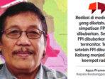 Kepala Kesbangpol Provinsi Kalimantan Tengah Agus Pramono