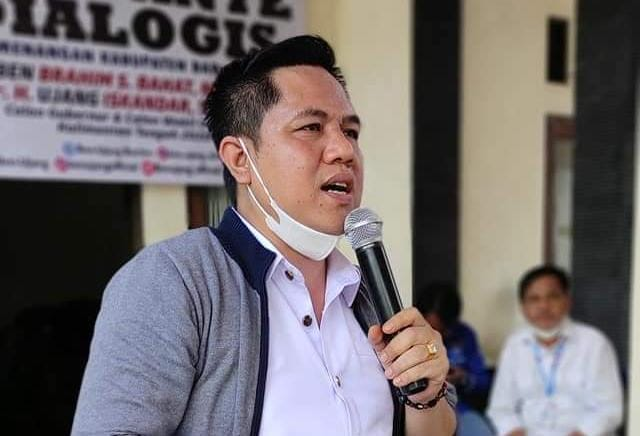 Wakil Ketua I DPRD Kabupaten Bartim, Ariantho S Muler