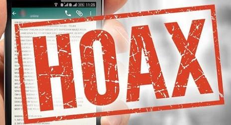 Penyebaran berita atau informasi hoax bisa dilakukan siapa saja.