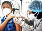memulai program vaksinasi untuk anak usia 12–17 tahun