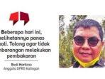 Anggota DPRD Katingan Rudi Hartono