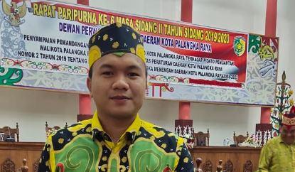 Anggota Komisi B DPRD Kota Palangka Raya Yudhi Karlianto Manan