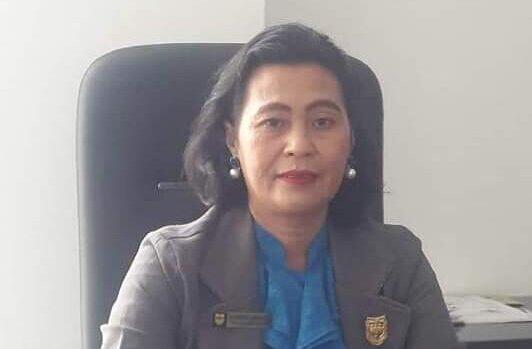 Anggota DPRD Gunung Mas,Rayaniatie Djangkan. FOTO DPRD GUMAS UNTUK KALTENG POS