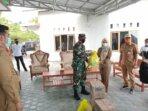 Dandim 1016/Plk Kolonel Inf Rofiq Yusuf bersama unsur Forkopimda Kota Palangka Raya