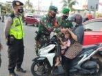Puluhan warga terjaring razia masker dalam operasi gabungan yustisi Satgas PPKM Skala Mikro