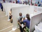 Pusat bisnis di Singapura meluncurkan program diskon untuk pelanggan yang bersedia divaksinasi Covid-19.