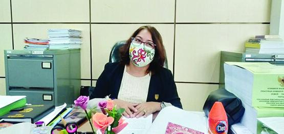 Sekretaris Komisi III DPRD Provinsi Kalimantan Tengah (Kalteng) Kuwu Senilawati