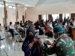 Warga Kota Palangka Raya antusias mengikuti pelaksanaan vaksinasi Covid-19 dosis kedua