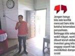 Anggota DPRD Kabupaten Gunung Mas, Evandi.