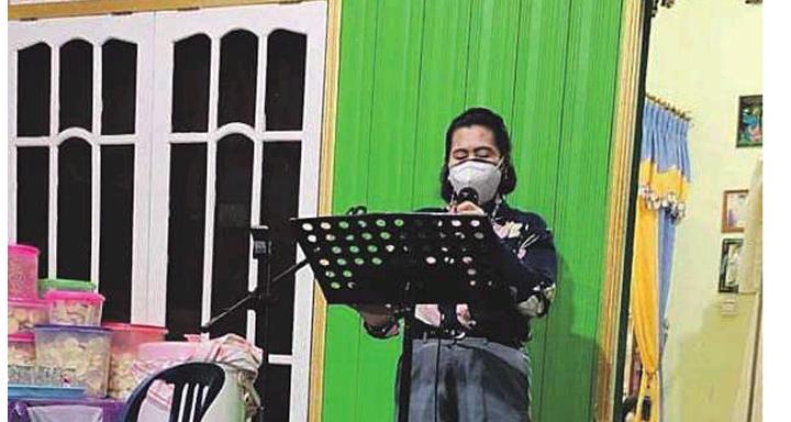 Anggota Dewan Perwakilan Rakyat Daerah Gunung Mas, Rayaniatie Djangkan.