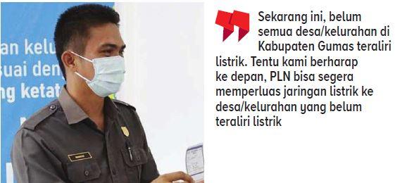 Wakil Ketua I Dewan Perwakilan Rakyat Daerah (DPRD) Kabupaten Gunung Mas (Gumas) Binartha