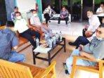 KUNJUNGAN KERJA: Sejumlah anggota DPRD Katingan, ketika melakukan kunjungan kerja ke wilayah Kecamatan Katingan Tengah, beberapa waktu lalu