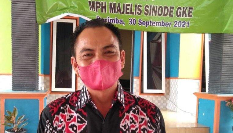 Anggota DPRD Kapuas Franco B Dehen
