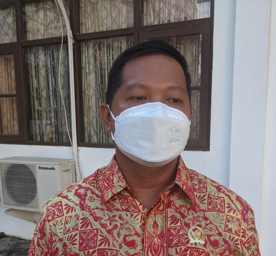 Wakil Ketua I DPRD Kapuas, Yohanes.