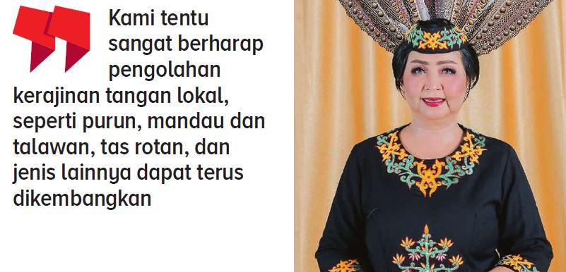 Anggota Dewan Perwakilan Rakyat Daerah (DPRD) Kabupaten Gunung Mas Iceu Prnamasari