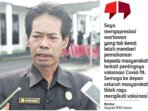 -Anggota Dewan Perwakilan Rakyat Daerah (DPRD) Kabupaten Gunung Mas (Gumas) Riantoe